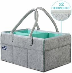 Baby Diaper Caddy Organizer - Portable Large diaper caddy to