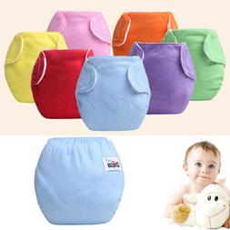 Baby Newborn Diaper Cover Adjustable Reusable Washable Nappi
