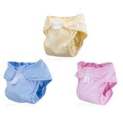Baby Newborn Diapers Cover Adjustable Reusable Washable Napp
