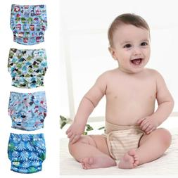 Baby One Size Cloth Diaper Lot Reusable Pocket Nappy Newborn