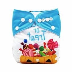 KaWaii Baby One Size Halloween Themed One Size Cloth Diaper