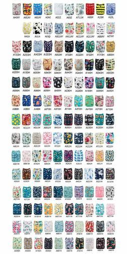 baby reusable washable baby cloth diapers pocket