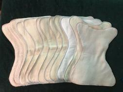 Baby Shaped Cloth Diaper Inserts Flannel Hemp Terry Cloth Co