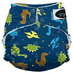 Imagine Baby Products Bamboo AIO 2.0 Diaper, Rawr, Snap
