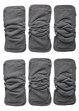 See Diapers 6 Pack Bamboo Charcoal Inserts or Doublers with