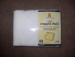 big Oshi 100% cotton flat cloth diapers new 27 inches by 27