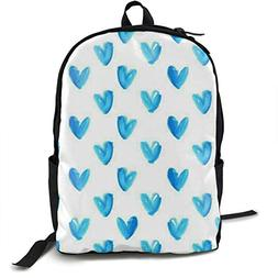 Frideing Blue Heart Stylish Unisex Classic Lightweight Lapto