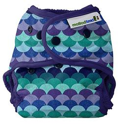 Best Bottom Cloth Diaper Shell-Snap, Mermaid Tail