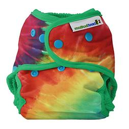 Best Bottom Cloth Diaper Shell-Snap, Totally Tie Dye