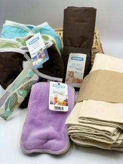 Thirsties Brand Cloth Diaper Lot NEW 6 Months +