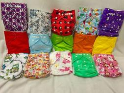 Brand New Lot of 10 Cloth diapers Boy/Girl
