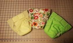 Bum-ware AIO cloth baby diapers with hook and loop closure s