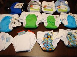 bumgenius and super undies cloth diapers lot
