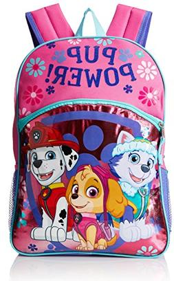 NEW girls NICKELODEON canvas PAW PATROL adjustable straps 16