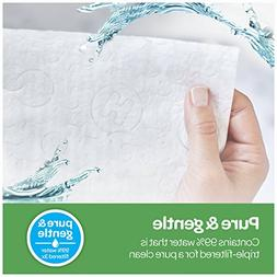 HUGGIES Natural Care Unscented Baby Wipes, Sensitive, Water-