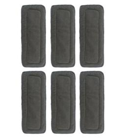 LOVE MY 5 Layer Charcoal Bamboo Inserts Reusable Liners for
