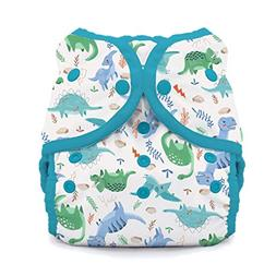 Thirsties Duo Wrap Cloth Diaper Cover, Snap Closure, Prehist