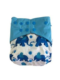 Cloth Diaper Cover Bamboo Charcoal OS Reusable Washable NEW