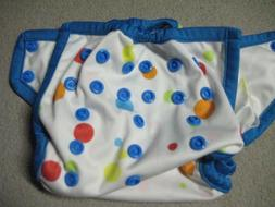 Rumparooz Cloth Diaper Cover Gumball Pattern Adjustable- New