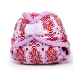 Rumparooz cloth diaper cover - Newborn - Aplix -  Lux Patter
