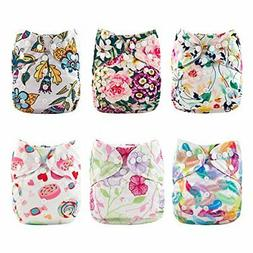 Babygoal Cloth Diaper Covers,Baby Adjustable Reusable