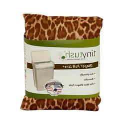 Cloth diaper pail liner /extra large reusable bag- Print Wil