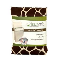 Cloth diaper pail liner /extra large reusable bag- Print Gir