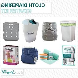 Spray Pal's Cloth Diapering Starter Kit Includes Variety of