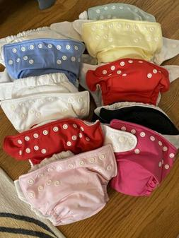 charlie banana cloth diapers 10 diapers