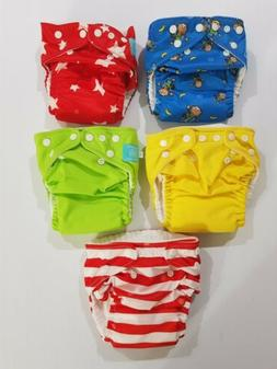 Charlie Banana Cloth Diapers 6 Diapers With 11 Inserts