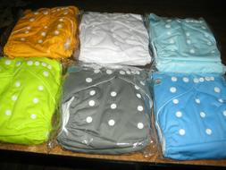Alvababy Cloth Diapers And Inserts, Set Of 6