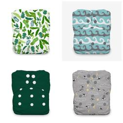 CLOTH DIAPERS FOUR THIRSTIES NAIO'S - SNAPS