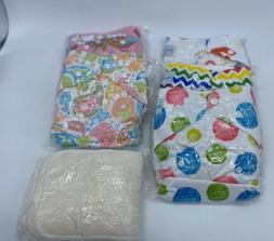 BABYGOAL Cloth Diapers One Size Reusable Baby 5 Pack 5 Inser