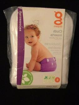 gDiapers Cloth Inserts, Medium/Large/X-Large  new in package