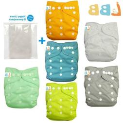 Cloth Pocket Diaper  Soft Reusable Washable Adjustable Nappi