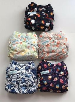 Mama Koala Coth Diapers-Stay Dry Pocket Diapers & Inserts 8-