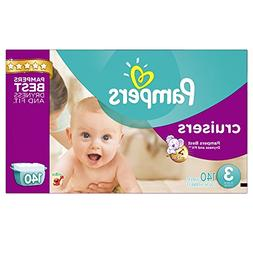 Pampers Cruisers Disposable Diapers Size 3, 140 Count, ECONO