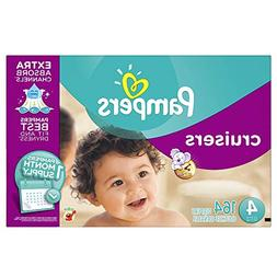 Pampers Cruisers Diapers Size 4 164 Count