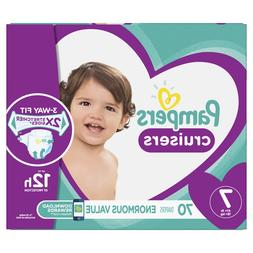 Pampers Cruisers Diapers Size 7, 70 Count