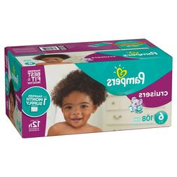 Pampers Cruisers Disposable Baby Diapers Size 6, 108 Count,