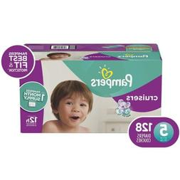 Cruisers Disposable Diapers, Size 5, 128 Count, ONE MONTH SU