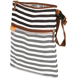 Brand New Cute Baby Wet/Dry Cloth Diaper Bag - Non Toxic Lin