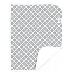 NEW Kushies Baby Deluxe Change Pad Grey Lattice FREE SHIPPIN