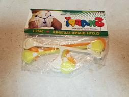 Snappi Diaper Fasteners - 3 Pack - New