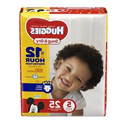 Huggies Baby Diapers, Snug & Dry, Size 5 , Case of 4/25s