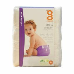G-Diapers B65067 G-diapers Gcloth Inserts, 6-count -1x6ct