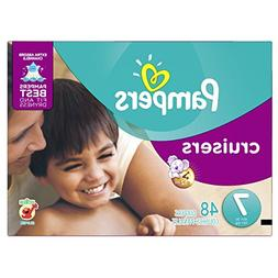 Pampers Diapers Size 7 Cruisers 48 Count NEW