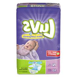 Luvs Diapers w/Leakguard Newborn: 4 to 10 lbs 40/Pack 4 Pack