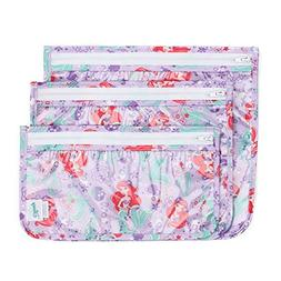 Bumkins Disney Ariel TSA Approved Toiletry Bag, Travel Bag,