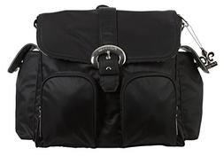 Kalencom Double Duty Diaper Bag - Black